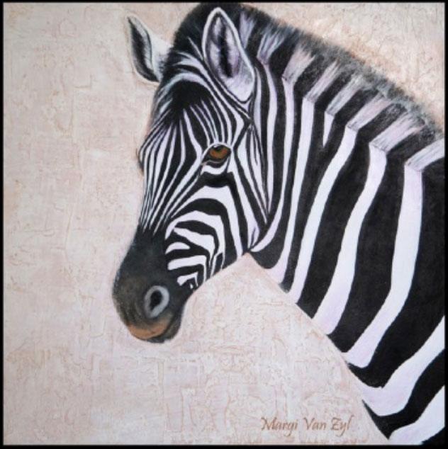 Pensive Zebra-art-wildlife3