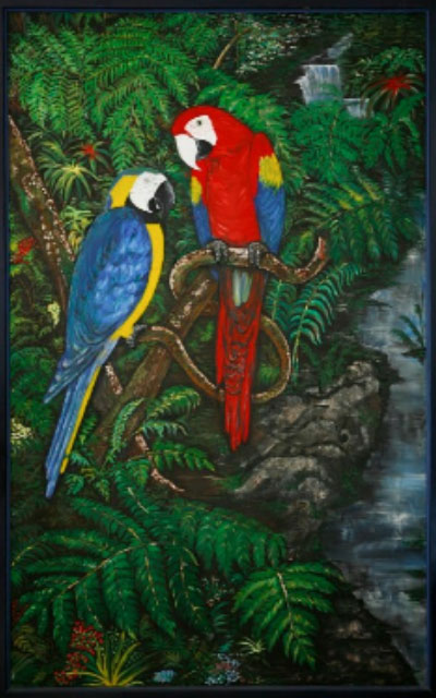 Amazing Macaws-art-wildlife5