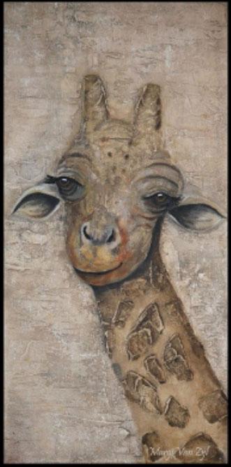 Alexandra Giraffe-art-wildlife6