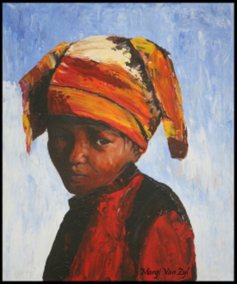 African Lady-art-realism2